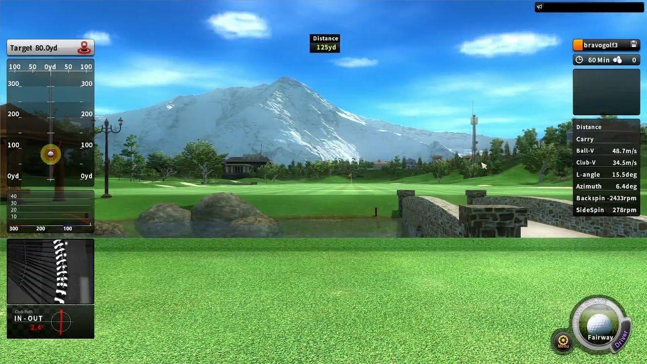 Bravo Indoor Golf Simulator